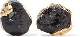Dara Ettinger Gold-plated stone earrings