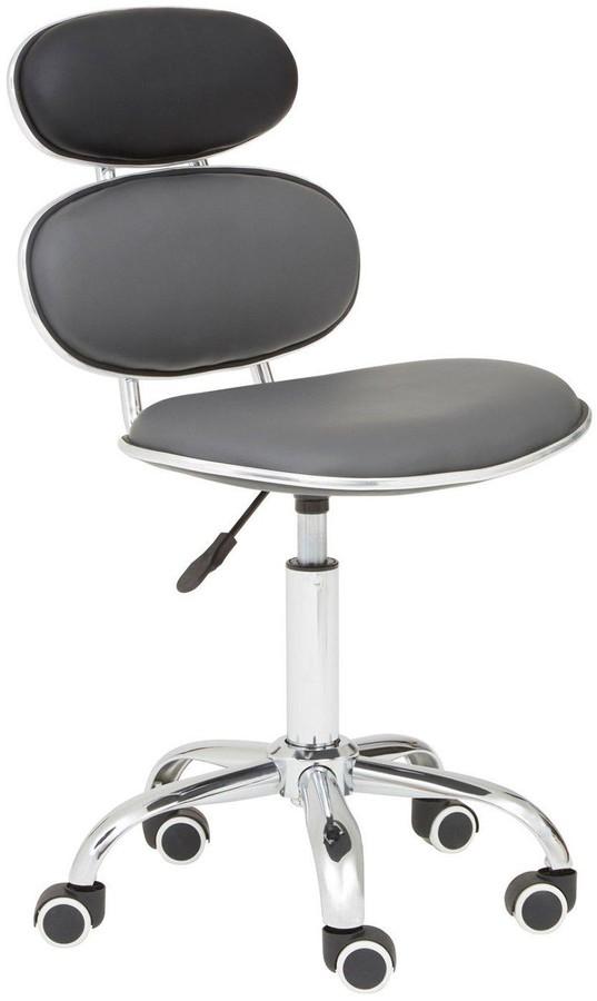 Premier Housewares Flagstaff Office Chair- Black