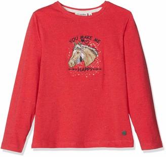 Salt&Pepper Salt and Pepper Girls' Longsleeve Horses II Neppy T-Shirt