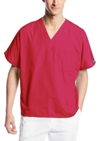 Cherokee Workwear Scrubs Unisex V-neck Tunic Top