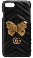 Gucci GG Marmont moth stud iPhone 7 case