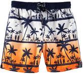 Osh Kosh OshKosh Palm Print Swim Trunks