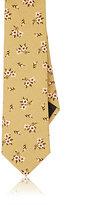 Givenchy Men's Floral Cotton Necktie-DARK GREEN