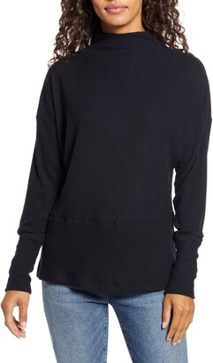 Caslon Rib Funnel Neck Sweater