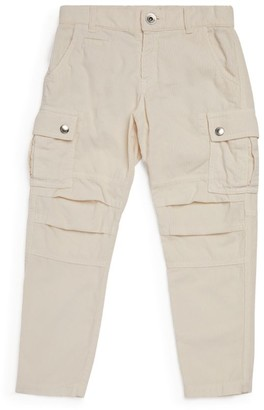BRUNELLO CUCINELLI KIDS Corduroy Cargo Trousers (8-11 Years)