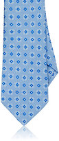 Kiton Men's Floral Silk Faille Necktie