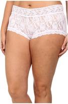 Hanky Panky Plus Size Signature Lace Solid New Boyshort Women's Underwear