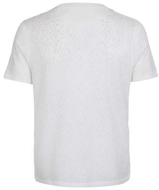 Topman Leopard Print Crewneck T-Shirt