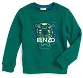 Kenzo Embroidered Tiger Sweatshirt (Toddler Girls, Little Girls & Big Girls)