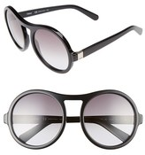 Chloé Women's Marlow 57Mm Round Sunglasses - Black
