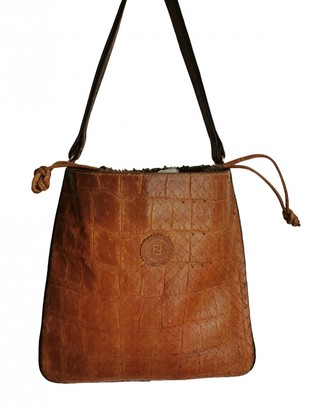 Fendi Brown Exotic leathers Handbags