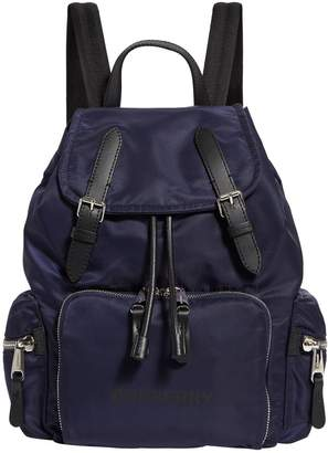 Burberry Medium Logo Buckle Backpack
