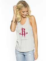 Peace Love World I am Houston Rockets Heather Boyfriend Tank