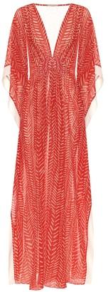 Johanna Ortiz Seychelles georgette maxi dress