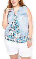 Penningtons d/c JEANS Sleeveless Denim Vest