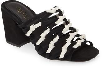 Cecelia New York Rickee Caged Block Heel Sandal