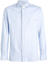 Kiton piqué shirt - men - Cotton - M