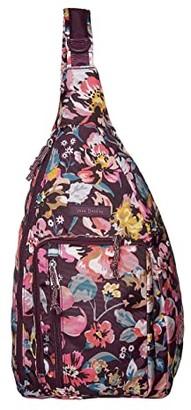 Vera Bradley Lighten Up Sling Backpack (Indiana Blossoms) Backpack Bags