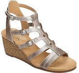 Aerosoles Heel Rest Wedge Sandals - Sparkle
