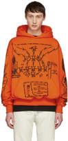 Warren Lotas Orange Sabata Hoodie