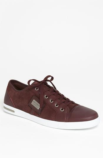 Dolce & Gabbana Suede Sneaker