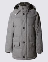 Marks and Spencer Feather And Down Parka with StormwearTM