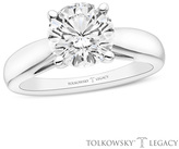 Zales Tolkowsky® Legacy 2 CT. T.W. Certified Round-Cut Diamond Solitaire Engagement Ring in 14K White Gold (I/SI2)