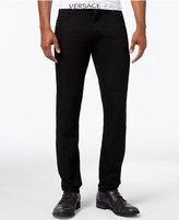 Versace Men's Slim-Fit Black Jeans
