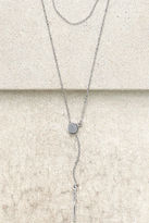 LuLu*s Perfect Proposal Silver Necklace Set