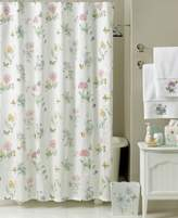 "Lenox Butterfly Meadow"" Shower Curtain Bath Collection"