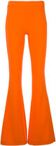 Moschino slim flared trousers - women - Polyester/Triacetate - 38