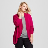 Merona Women's Plus Size Cocoon Cardigan Pink
