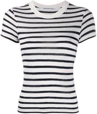 Alexander Wang Striped Print T-Shirt