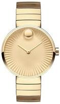 Movado 'Edge' Bracelet Watch, 34mm