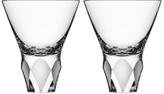 Orrefors Crystal Carat Martini Pair