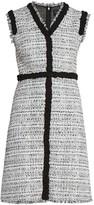 Giambattista Valli Braided Tweed Sheath Dress