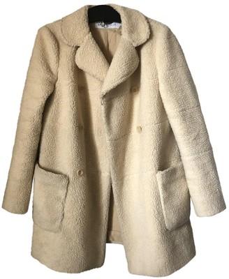 See by Chloe Ecru Cotton Coat for Women