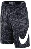 Nike Boy's Dry Training All-over Print Shorts