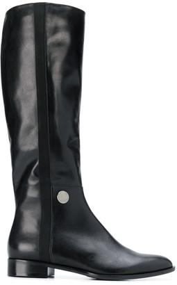 Emporio Armani Equestrian-Style Boots