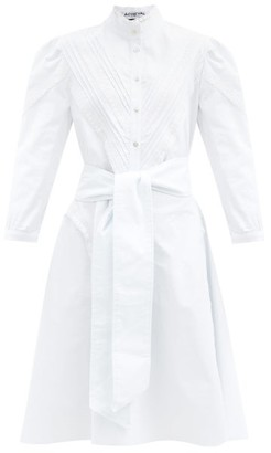 ÀCHEVAL PAMPA Yegua Cotton-blend Poplin Shirt Dress - White