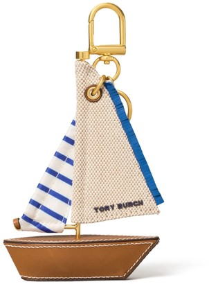 Tory Burch Origami Sailboat Key Ring