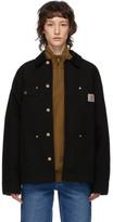Carhartt Work In Progress Black OG Chore Coat