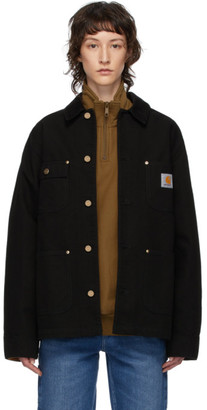 Carhartt Work In Progress Black OG Chore Coat
