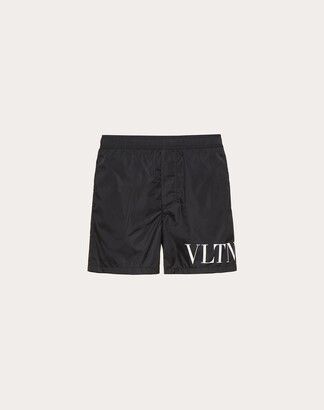 Valentino Vltn Bathing Suit Man Black Polyamide 100% 46