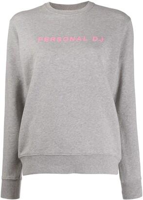 Kirin Personal DJ print sweatshirt