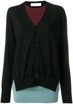 Toga Pulla layered cardigan sweater