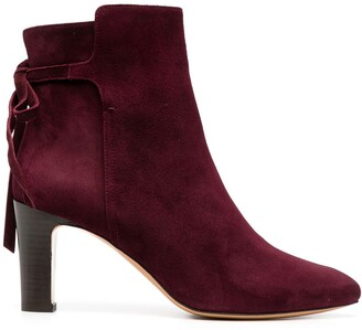 Tila March Bolton pointed ankle boots