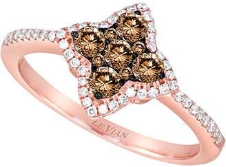 LeVian Le Vian Chocolatier 14K Rose Gold 0.52 Ct. Tw. Diamond Ring