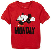 JEM Mickey Mouse Monday Graphic T-Shirt (Toddler & Little Boys)