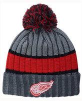 New Era Detroit Red Wings Stripe Chiller Pom Knit Hat